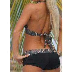 A bikini Scollatura a V Gli sport Casuale Bikinis Costumi Da Bagno
