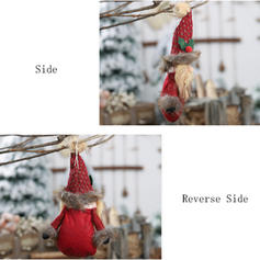 Gnome Snowman Plush Cloth Doll