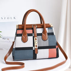 Charming/Commuting/Splice Color Satchel/Tote Bags/Crossbody Bags/Shoulder Bags