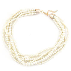 Nice Imitation Pearls Women's Fashion Necklace