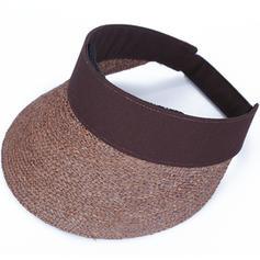 Dames Simple/Gentil/Fantaisie Raphia paille Chapeaux de plage / soleil