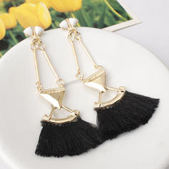 Alloy Acrylic With Tassels Women's Fashion Earrings