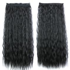 Vodní vlna Syntetické vlasy Klipsy Na Prodloužení Vlasů (Prodává se jako jeden kus) 80g