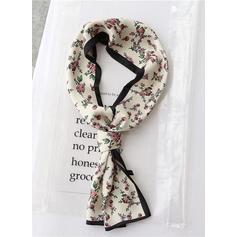 Blomster Lett/mote Silk skjerf