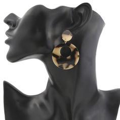 Style Classique Alliage Acrylique Femmes Boucles d'oreille de mode (Vendu dans une seule pièce)