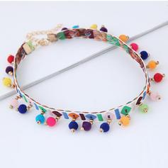 Stylish Cloth Alloy Women's Necklaces