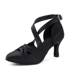 Women's Latin Heels Satin Latin