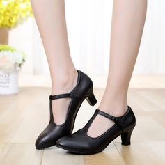 zapatos de personaje Tacones Salón Piel con Hebilla Danza latina