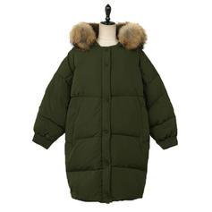 Polyester Bavlna Dlouhé rukávy Jednobarevný Kabáty široké v pase
