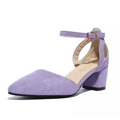 Naisten Keinonahasta Matala heel Avokkaat kengät