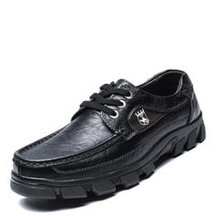 Lace-up Casual Work Real Leather Men's Men's Oxfords