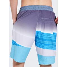 A bărbaţilor Splice color Pantaloni scurți Costum de Baie