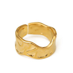 Colourful Brass Women's Rings