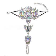 Sexy Alloy With Imitation Crystal Women's Beach Jewelry