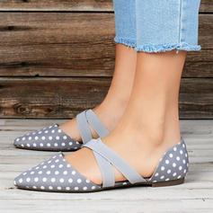 Kvinnor PU Flat Heel Platta Skor / Fritidsskor med Bandage skor