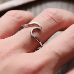 Exquisite Titanium Steel Women's Rings