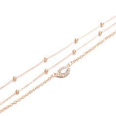 Exotic Boho Layered Alloy With Rhinestone Eye Necklaces (Set of 3)