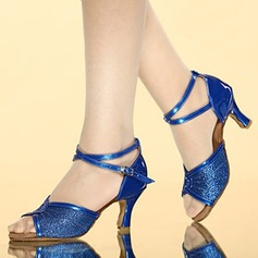 Women's Latin Sandals With Ankle Strap Latin