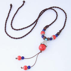 Fashional Alloy Resin Ladies' Fashion Necklace