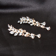 Shining Sexy Alloy Rhinestones With Rhinestone Women's Ladies' Fashion Earrings