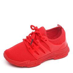 Unisex Malla Punta Cerrada Planos Sneakers y atlético con Cordones