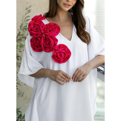 Floral V-Neck Sexy Cover-ups Swimsuits