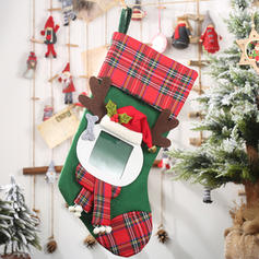 Merry Christmas Hanging Gift Bag Cloth Apple Bags Christmas Stocking