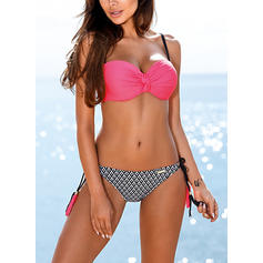 Underwire Low Waist Neon Strap Sexy Bikinis Swimsuits
