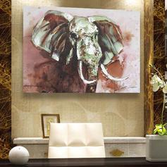 Modern Rectangle Animal Paintings