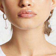 Le plus chaud Fantaisie Alliage De faux pearl avec Perle d'imitation Boucles d'oreilles
