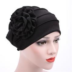 Señoras' Estilo clásico Algodón con Flor Disquete Sombrero