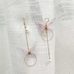 Chic Alliage De faux pearl avec Perle d'imitation Femmes Boucles d'oreille de mode (Lot de 2)
