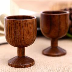 Modern Classic Wood Pint Glasses