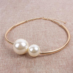 Unique Alloy With Imitation Pearl Necklaces