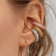 Charming Hottest Alloy With Zircon Earrings (Sold in a single piece)