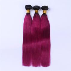 5A Proste Ludzki włos Ludzkie włosy splot (Sprzedawane w jednym kawałku) 100g