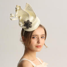 Ladies' Special/Glamourous/Elegant/Unique/Fancy/Romantic/Vintage/Artistic Cambric With Rhinestone Fascinators/Kentucky Derby Hats