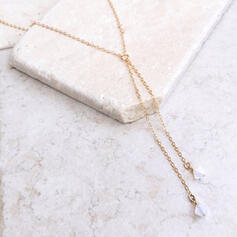 Beautiful Simple Alloy Zircon Women's Necklaces