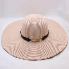 Ladies ' Særlige Raffia Straw Strand / Sun Hatte