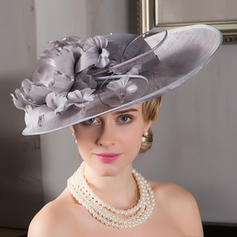 Dames Élégante Fil net Chapeau melon / Chapeau cloche/Kentucky Derby Des Chapeaux/Chapeaux Tea Party