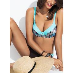 Potisk Na ramínka Sexy Plus mărimea Bikiny Costume de baie