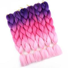 Tout droit cheveux synthétiques Tresses de cheveux (Vendu en une seule pièce) 150g