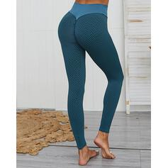 Patchwork Long Casual Sexy Long Sporty Leggings
