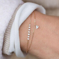 Alloy With Zircon Bracelets Beach Jewelry