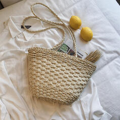 Attractive/Vintage/Estilo boêmio/Trançado/Simples/Super conveniente Bolsas de lona/Bolsa de Ombro/Sacos de praia