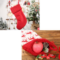 Πλέξιμο Сумки для яблук Різдвяні панчохи