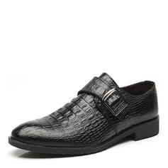 Penny Loafer Casual Trabalhos Couro Homens Oxfords Masculinos