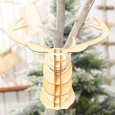 Reindeer Christmas Wooden Christmas Décor Diy Craft
