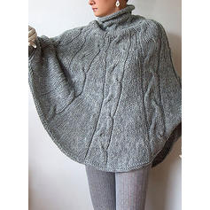 Cable-knit Turtleneck Sweaters