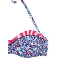 Fleuris Imprimé Dos Nu Sexy Bohème Bikinis Maillots De Bain